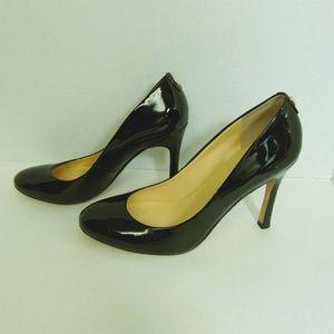 Ivanka Trump Pumps Black Patent Leather Shoes 8.5